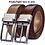 Thumbnail: Men's Leather Reversible Belt - Classic & Fashion Designs