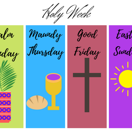 Holy Week and Easter Worship