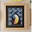 Tableau toucan bleu, papier, fée muguette, les créateurs de saison