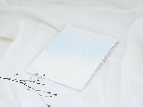 Carnet rechargeable, page blanche, Atelier Ames sensibles, Boutiques Les créateurs de saison, Paris