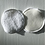 Disque coton délicatesse, blanc, éponge et polaire coton bio, blanc, Hissala, Boutique Les créateurs de saison