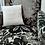 Coussin  intérieur, tissu upcyclé, teinture naturelle, Villagarance, les créateurs de saison Paris