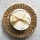 Disque coton délicatesse blanc, éponge et polaire coton bio, blanc, Hissala, Boutique Les créateurs de saison