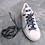 Lacet chaussure- wax-bleu marinière-Dingadiling-les créateurs de saison