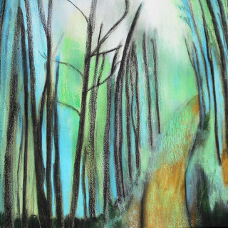 5. The Road Ahead mixed media on canvas