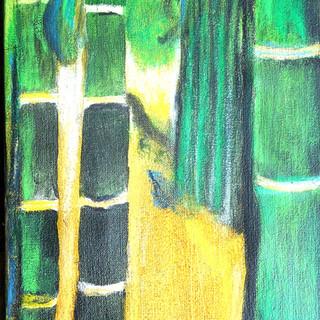 15. Guadua III mixed media on canvas RLO