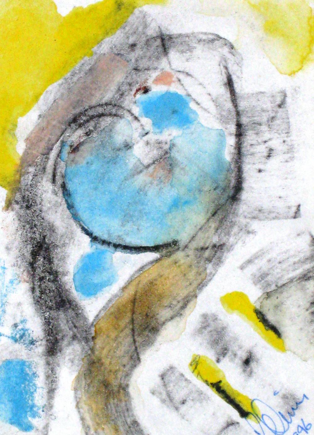 76. Abstract. Mixed Media 1996.JPG