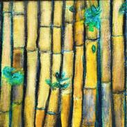 12. Bambu Borders mixed media on canvas