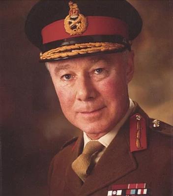 Major General Ian Gill; C.B, O.B.E, M.C