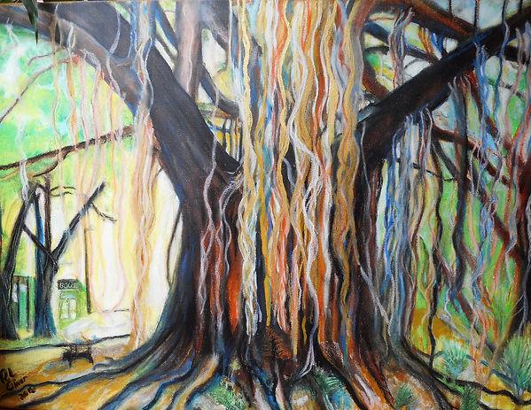 Golden Rubber Tree of Dog Park version 2