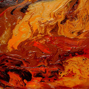 6. Abandonment II mixed media on canvas