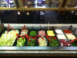 Eating Salad at the Steak Buffet