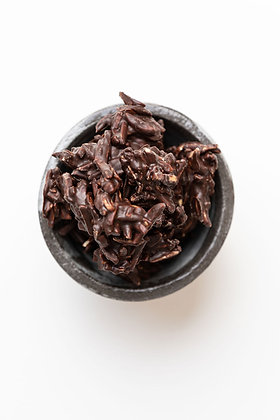 Dark Almond Clusters