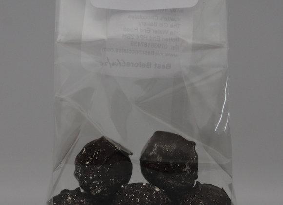 Dark Salted Caramel Bites