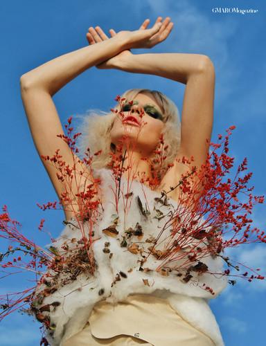 December Issue  Metamorphosis  Photographer - Roxana Georgescu Styling - Ana Dinuta Hair - Cristina Ant Model - Selina Popa