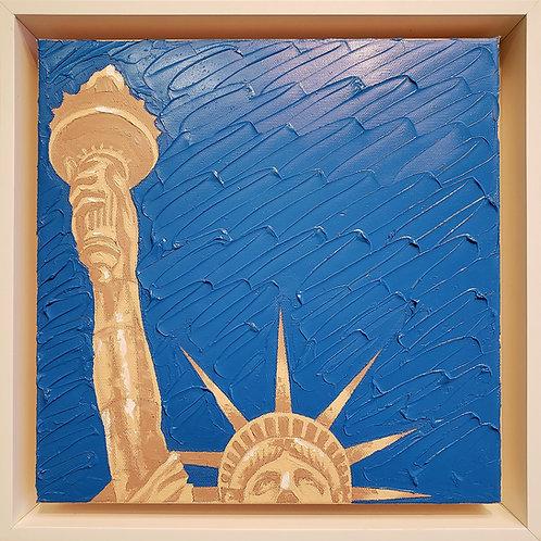 Give Us Liberty - Aqua Sand Peach