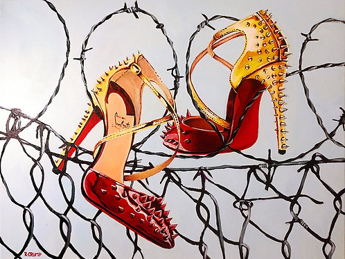 Louboutin Spiked Pumps