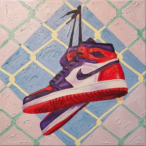 Jordan1 Bred Toe