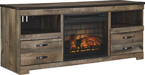 Trinell TV Stand with Fireplace