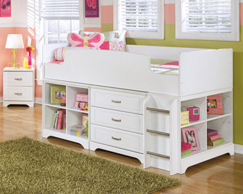 Lulu Collection Twin Loft Bed