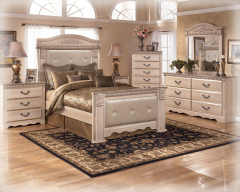 Superb Part Of The Ashley Signature Design Line, The Coal Creek Collection Is  Grand In Scale And Rich In Traditional Beauty. Sleep In Sophisticated Style  Replete ...