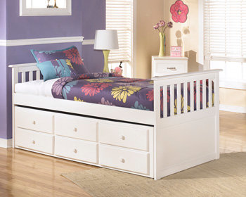 Lulu Collection Twin Trundle with Drawer