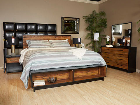 Stavani Platform Bedroom Set