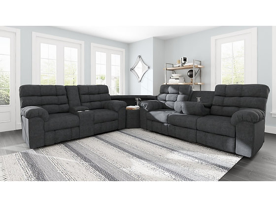 Wilhurst 3 Pc Sectional