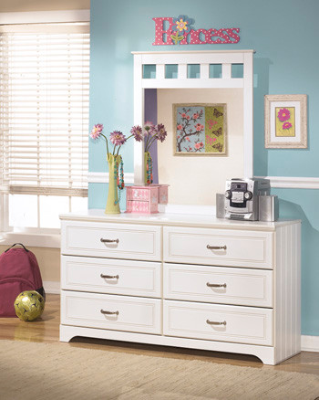 Lulu Collection Dresser And Mirror Atozon55