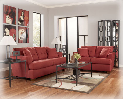Metro Modern Design Sofa & Loveseat