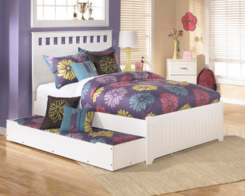 Lulu Collection Twin Bed with Trundle
