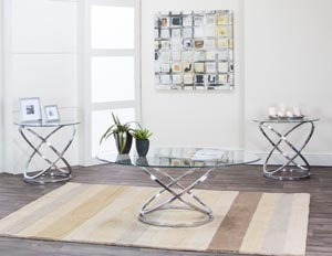 Gyro 3 Piece Occasional Table