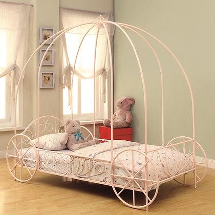 Canopy Twin Carriage Bed