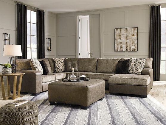Abalone 3 pc Sectional