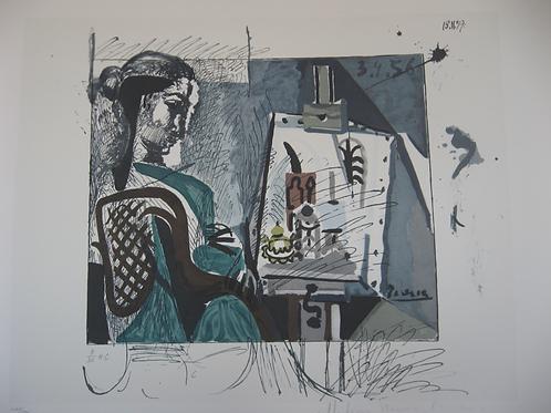 Femme dans l'Atelier