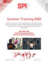 2020 SUMMER ATHLETIC PERFORMANCE TRAINING