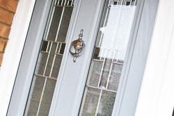 Light Grey Door with Silver Knocker