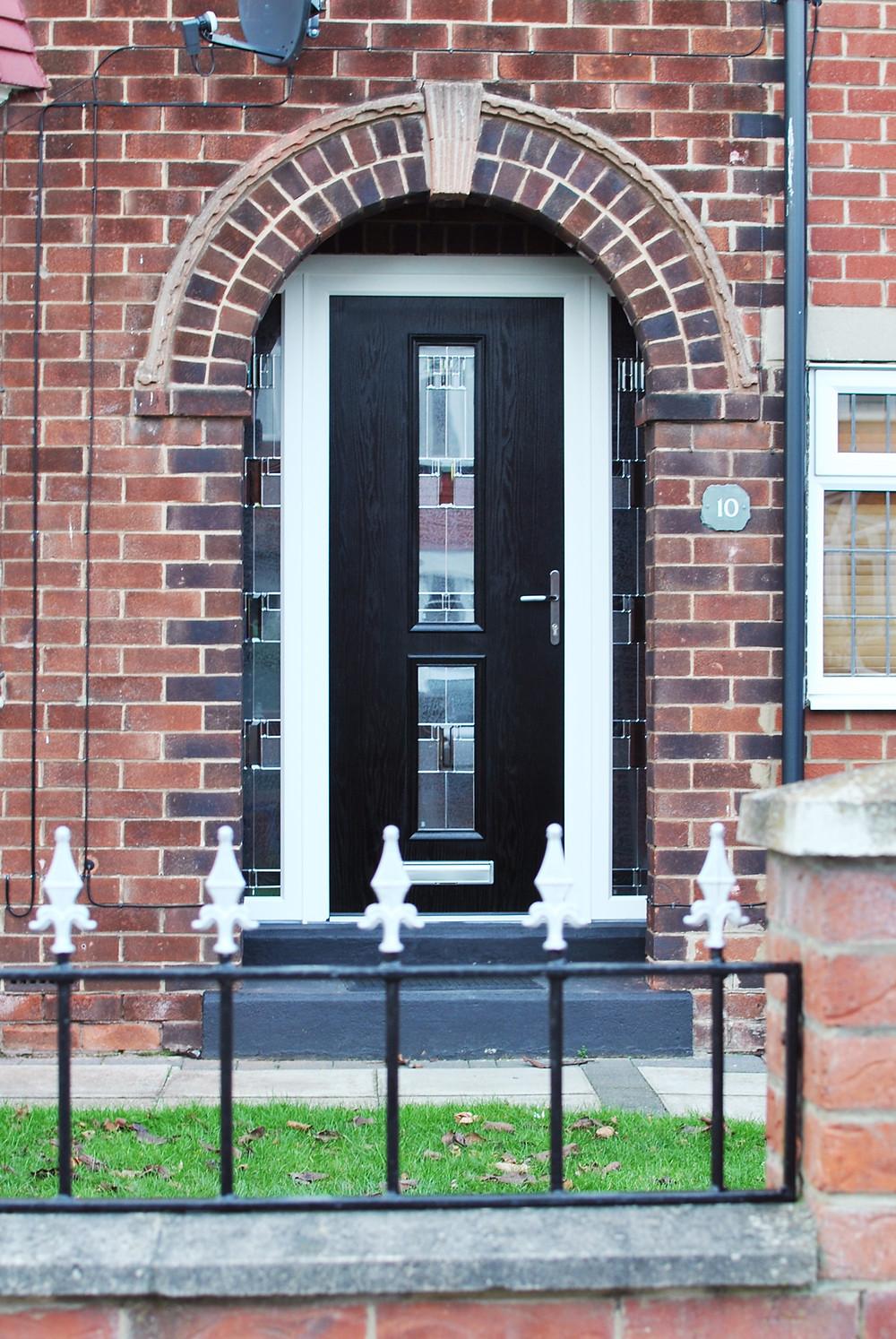 Modern Contemporary Composite Door - Classy Composite Door Installation - Marton Windows