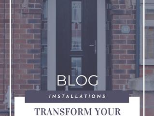 A Classy & Versatile Installation - Black Modern Composite Door Installation