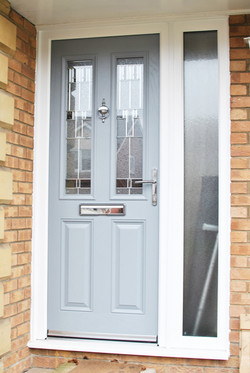 Light Grey Composite Door | Altmore