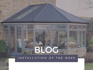 Installation of the Week: Anthracite Conservatory with ultraROOF