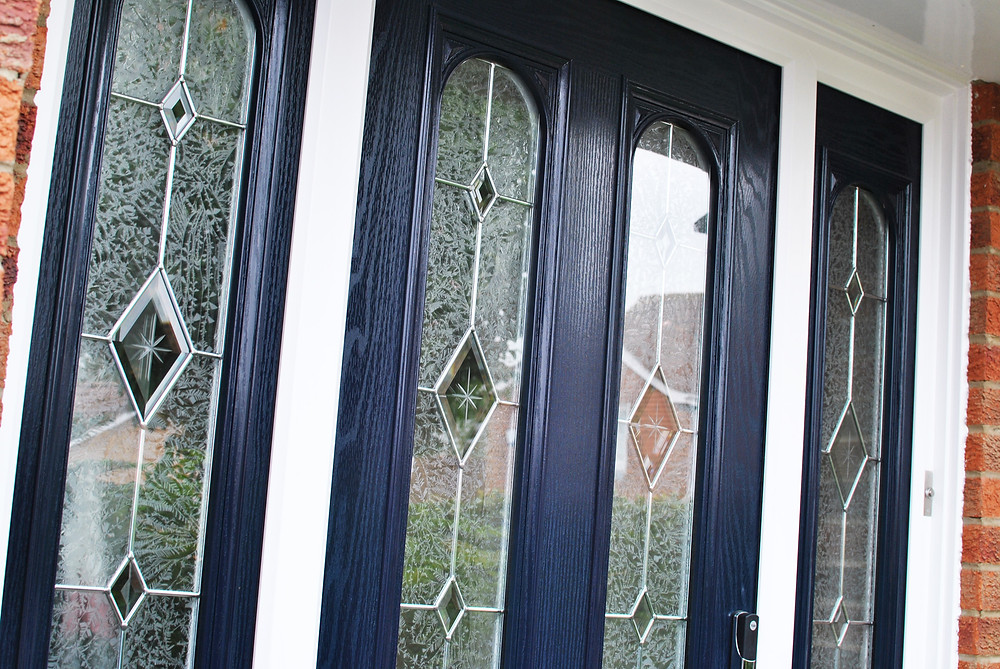 Blue Composite Door - Teesside - Middlesbrough - Window and Door Installers