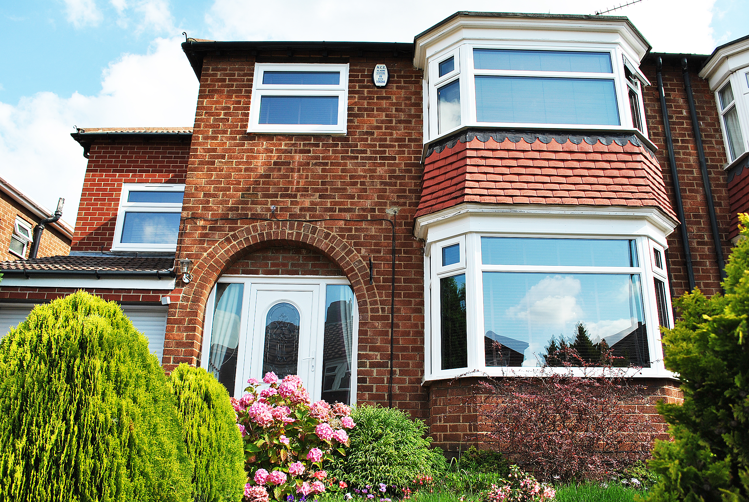 Top Sash bay UPVC Windows