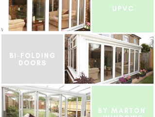 UPVC BI-FOLDING DOORS!