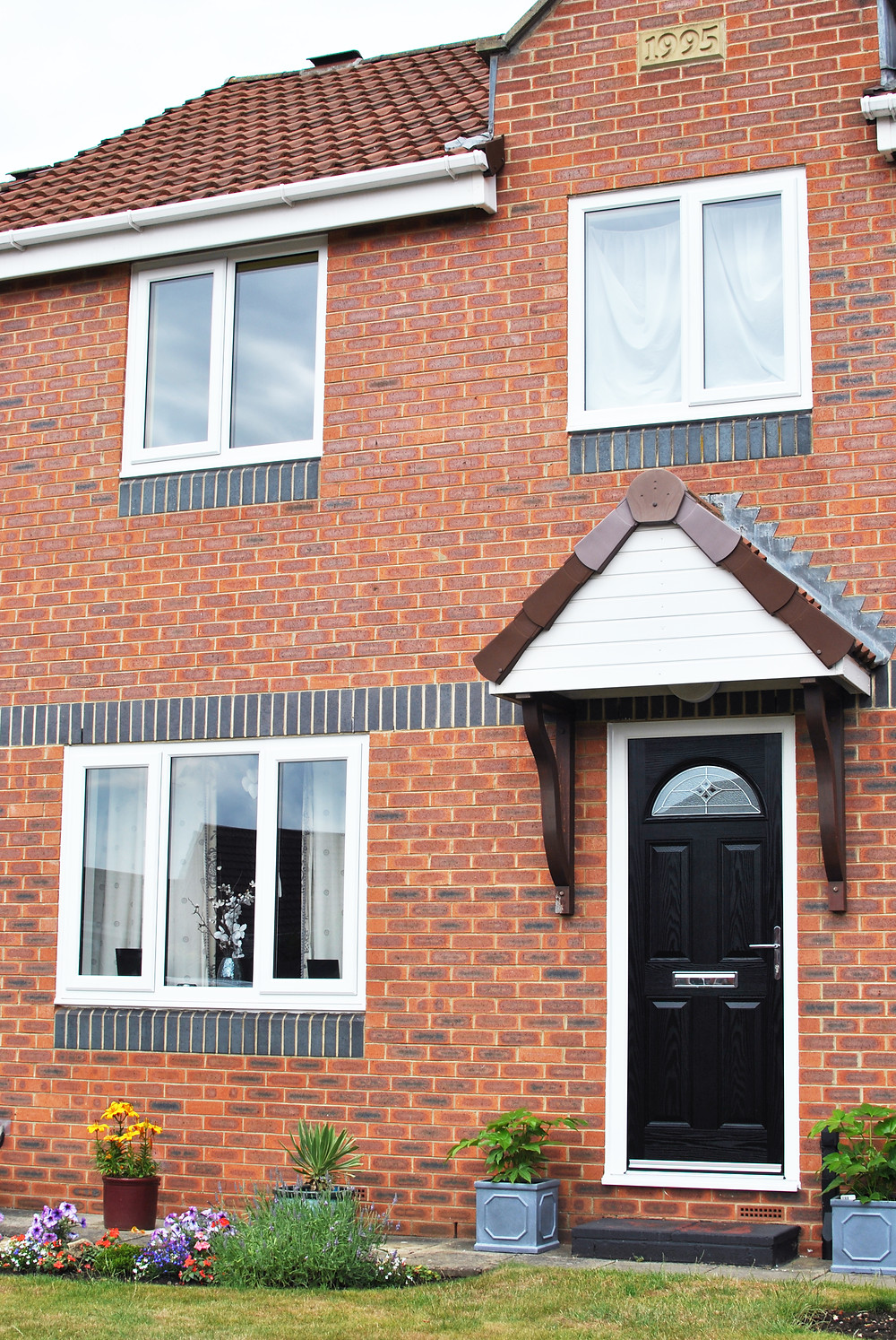 Full home of UPVC windows with Black composite Door in Middlesbrough