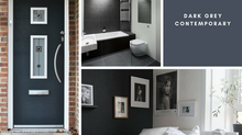 Dark Grey - Brushed Steel - Contemporary Home Inspiration