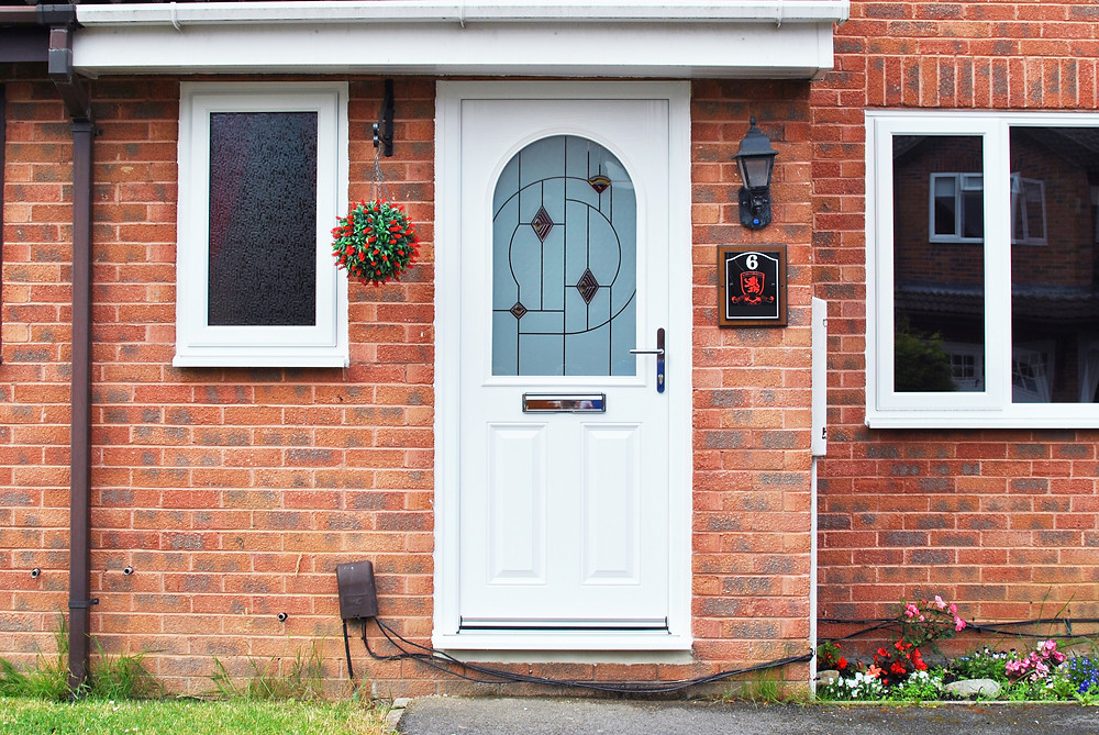 White Composite Door Replacement - Middlesbrough - Redcar & Cleveland