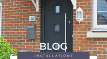 A Modern Installation: The Dakota Composite Door in Anthracite Grey