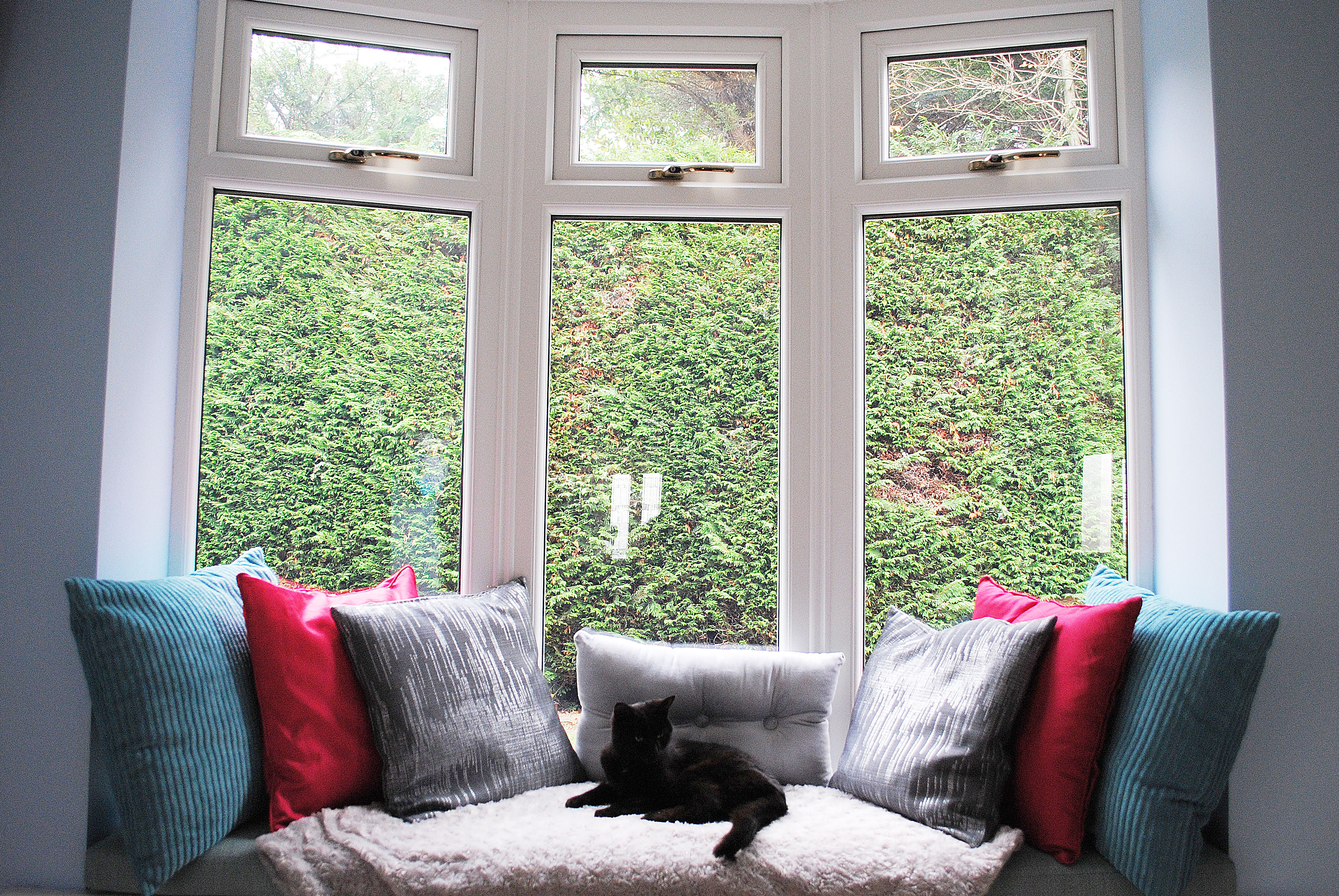 Internal View of Our Bay Windows