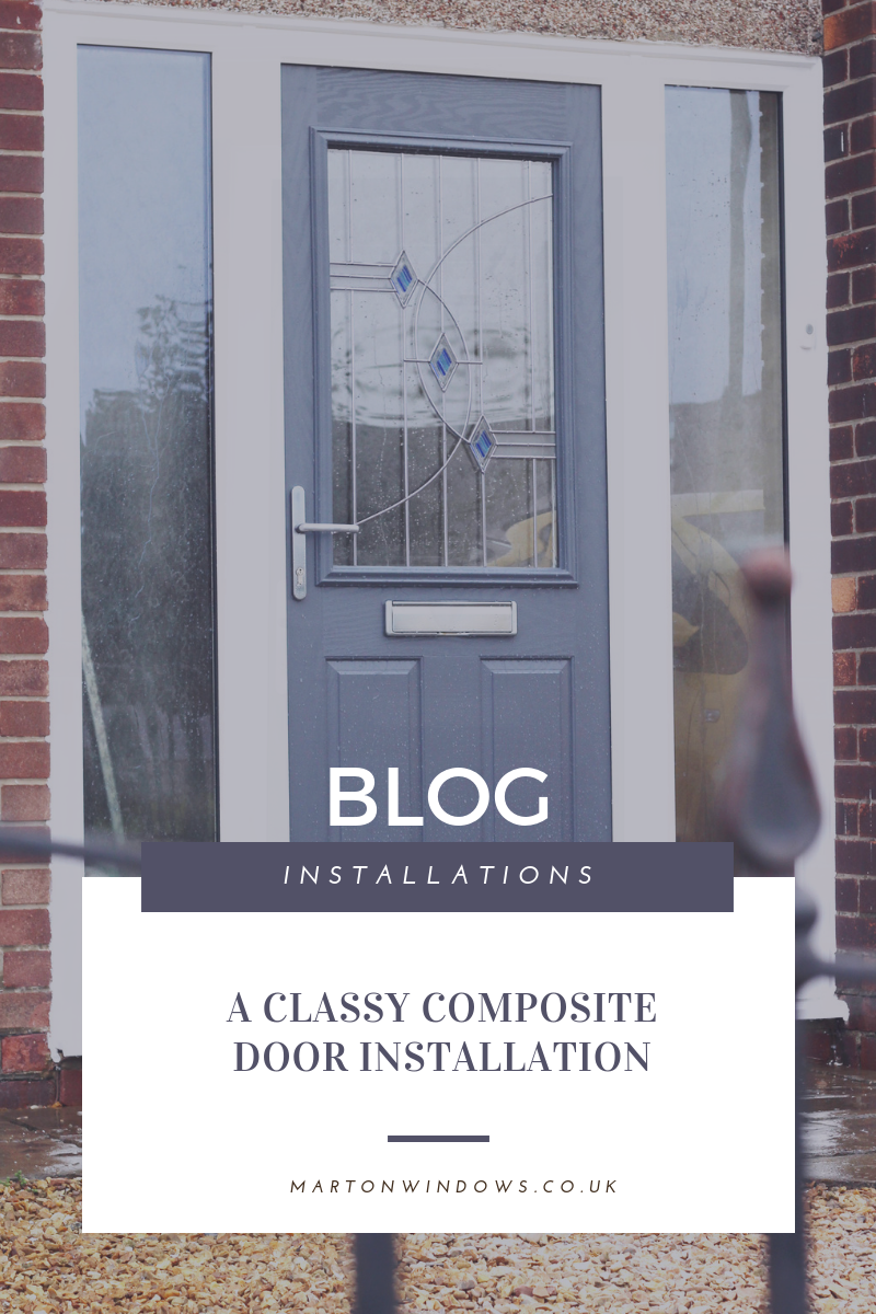 Grey Composite Door in Middlesbrough - Teesside - Yarm - stockton - Redcar - Skelton - Whitby